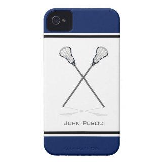 Caso personal del iPhone 4 4S de LaCrosse Case-Mate iPhone 4 Cárcasa