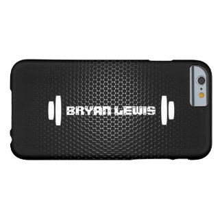 Caso personal moderno del iPhone 6 del instructor Funda Barely There iPhone 6