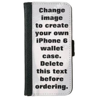 Caso personalizado de la cartera del iPhone 6 de Funda Cartera Para iPhone 6