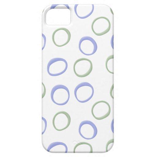 Caso pintado de la identificación de la lavanda 4  iPhone 5 Case-Mate carcasa