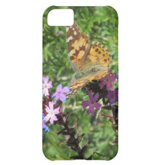 Caso pintado del iPhone 5 de señora Butterfly