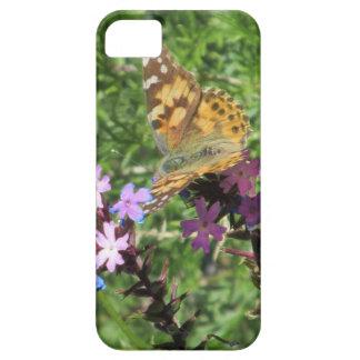 Caso pintado del iPhone 5 de señora Butterfly iPhone 5 Protectores
