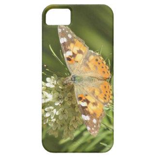 Caso pintado del iPhone 5 de señora Butterfly iPhone 5 Protector