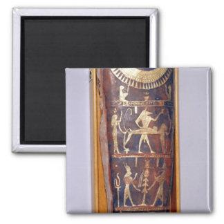 Caso pintado y dorado de la momia de Artemidorus Imán