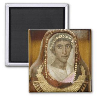 Caso pintado y dorado de la momia de Artemidorus Iman
