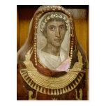 Caso pintado y dorado de la momia de Artemidorus Tarjetas Postales
