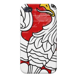 Caso polaco del iPhone 4 de Eagle iPhone 4 Cárcasas