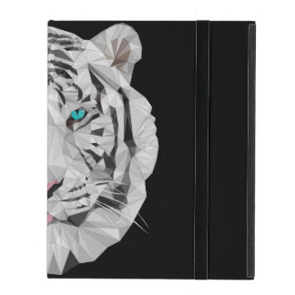 Caso polivinílico bajo del iPad 2/3/4 del tigre