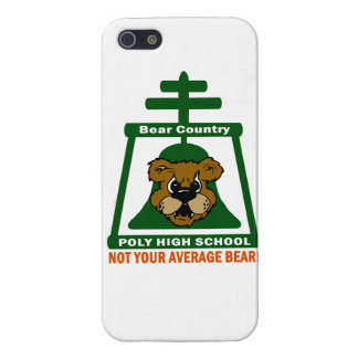 Caso polivinílico del iPhone de la High School sec iPhone 5 Cárcasa