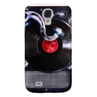 Caso portátil del iPhone del fonógrafo Funda Para Galaxy S4