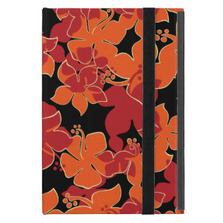 Caso Powis del iPad floral hawaiano del iCase de iPad Mini Protectores