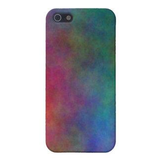 Caso primario celestial de IPhone 4 4s del arco ir iPhone 5 Carcasa