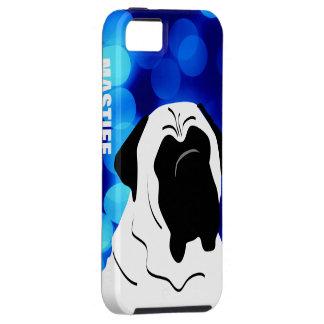 Caso principal de IPhone del mastín iPhone 5 Case-Mate Carcasa