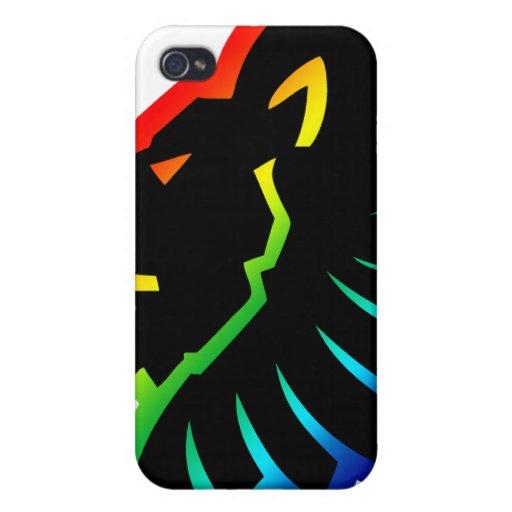 Caso principal del iPhone del león iPhone 4/4S Carcasas