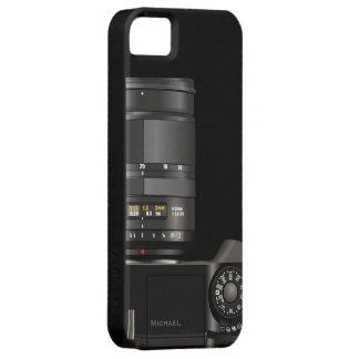 Caso profesional del iPhone 5 de la cámara del fot iPhone 5 Case-Mate Cobertura