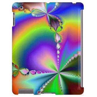 Caso psicodélico del iPad del ~ de las gotitas Funda Para iPad
