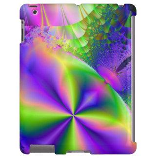 Caso psicodélico del iPad del ~ del fractal 87 Funda Para iPad
