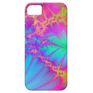 Caso psicodélico del iPhone 5 del arco iris del fr iPhone 5 Case-Mate Coberturas