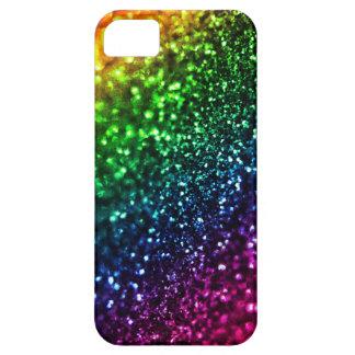 Caso psicodélico del iPhone 5 del brillo del arco iPhone 5 Carcasa