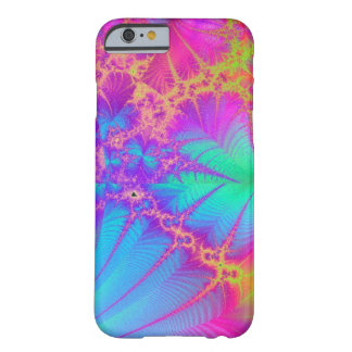 Caso psicodélico del iPhone 6 del arco iris del Funda De iPhone 6 Barely There