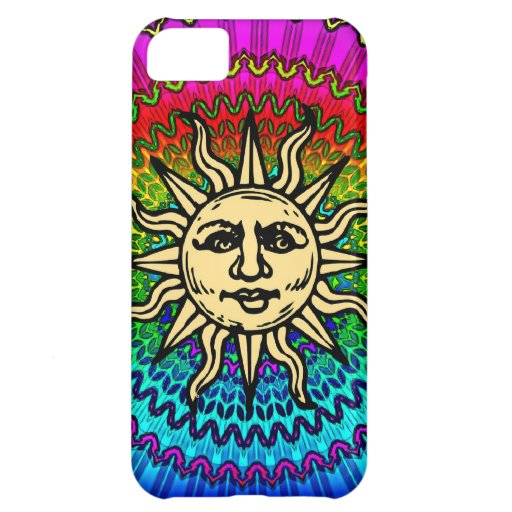 Caso psicodélico del iPhone de Sun del arco iris