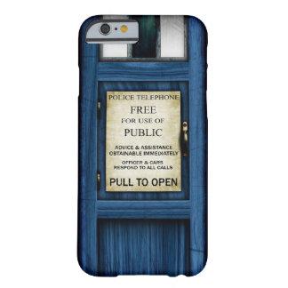 Caso público 2 del iPhone 6 de la caja de llamada Funda Barely There iPhone 6