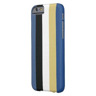 Caso pulido del iPhone 6 de Stripey Funda De iPhone 6 Barely There