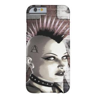 Caso punky británico retro del iPhone 5 de la moda Funda De iPhone 6 Barely There