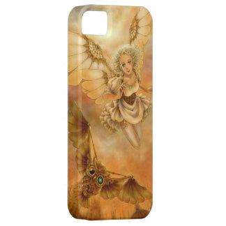 Caso punky del iPhone 5 de la fantasía del vapor iPhone 5 Protectores