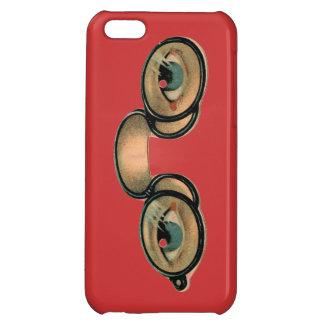 Caso punky del iphone de las lentes del vapor
