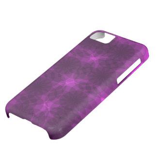 Caso púrpura de la neblina funda para iPhone 5C