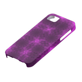 Caso púrpura de la neblina iPhone 5 carcasa