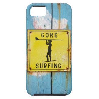 Caso que practica surf ido - Iphone 5 iPhone 5 Funda