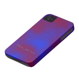 Caso que vetea del iphone 4 de Roland Carcasa Para iPhone 4 De Case-Mate