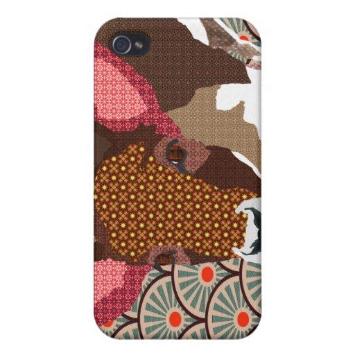 Caso querido del iPhone de los ciervos iPhone 4 Protector