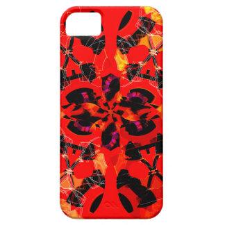 Caso R del iPhone 5 de los cráneos y de las flores iPhone 5 Case-Mate Coberturas