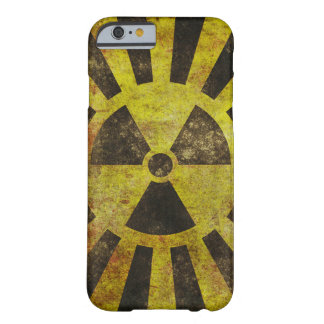 Caso radiactivo del iPhone 6 del Grunge Funda De iPhone 6 Barely There