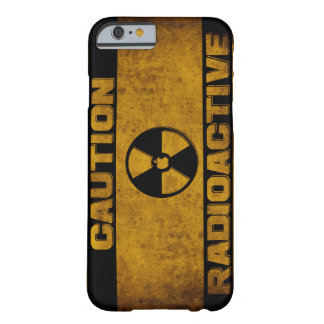 Caso radiactivo del iPhone Funda Barely There iPhone 6