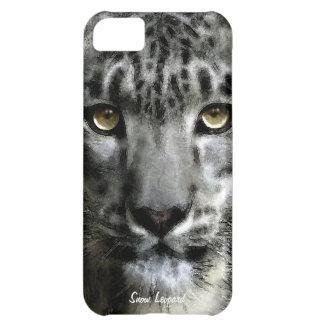 Caso raro del iPhone 5 de la fauna del gato grande