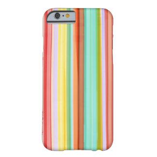 Caso rayado feliz del iPhone 6/6s Funda Para iPhone 6 Barely There
