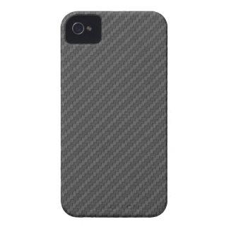Caso rayado gris oscuro de Iphone 4/4S iPhone 4 Case-Mate Coberturas