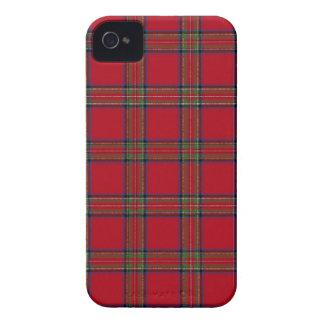 Caso real de Iphone 4/4S de la tela escocesa de iPhone 4 Case-Mate Coberturas