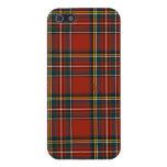 Caso real del iPhone 5/5S del tartán de Stewart iPhone 5 Protector