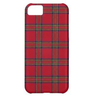 Caso real del iPhone 5 de la tela escocesa de Funda Para iPhone 5C