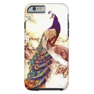 Caso real del iPhone 6 del pavo real
