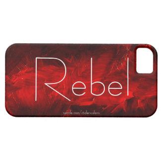 Caso rebelde de Iphone 5 iPhone 5 Case-Mate Funda