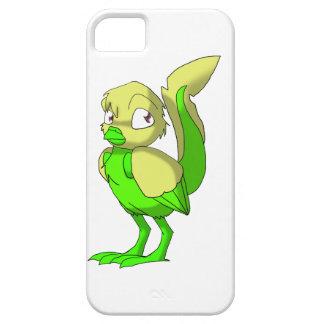 Caso reptil del iPhone del pájaro de la Limón-Cal iPhone 5 Funda