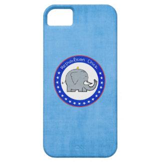 caso republicano del iphone del polluelo iPhone 5 protector
