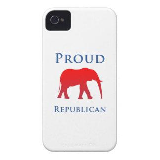 Caso republicano orgulloso del iPhone 4S iPhone 4 Protectores