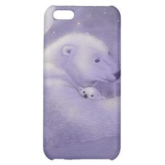 Caso reservado del iPhone 4 del oso polar del invi